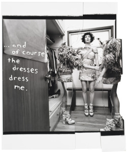 MIRANDA JULY - RODARTE - AUTUMN DE WILDE collaboration for tar magazine collage made from silver-gelatin prints