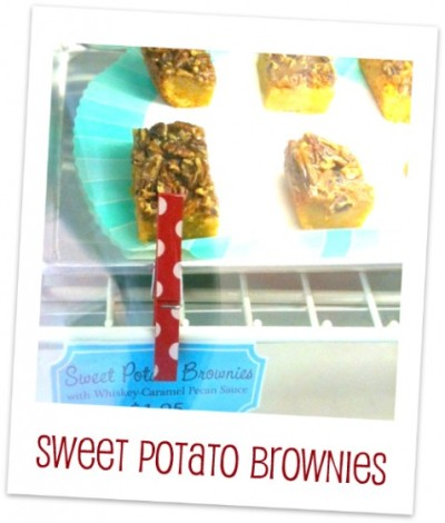 dreaming about: these delicious looking brownies! sweet potatoes always taste like autumn and crisp air and cardigans and scarves and cinnamon. bah! august is the cruelest month!  http://blog.bakeitpretty.com/2011/07/sweet-potato-brownies/