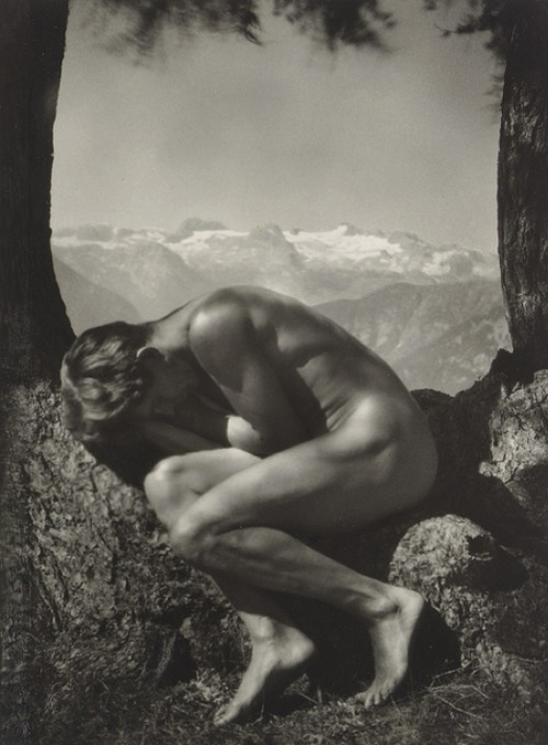Self-Portrait, In the Bosom of Nature (1923) – Rudolf Koppitz