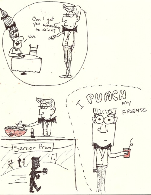 I PUNCH my friends. By Marvin Jay