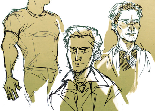today was a little stupid here are some deans because i'm way too used to gangly noodle people