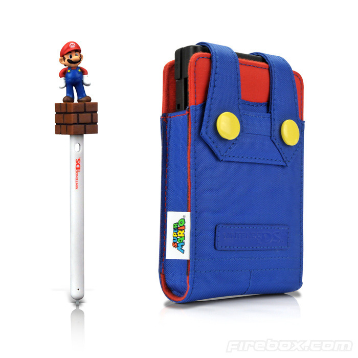 videogamenostalgia:  Super Mario DS Cover (via: uglyimagination)  do want xD… Pero uno para laptop (no tengo DS T_T)