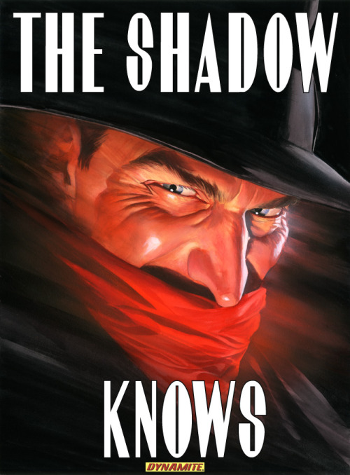 signalwatch:  Sweet!  Dynamite to put out new Shadow comics with input from Alex Ross.