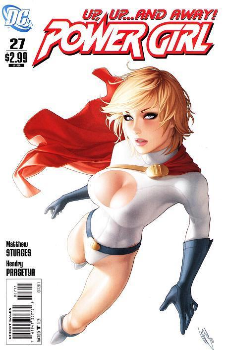 thanosthemadtitan:  jacquelineofalltrades:  No more Power Girl comic. *sobs quietly into a PG cape*  And THIS is why I am deeply PISSED OFF at DC comics.   Do NOT f**k with my PG.