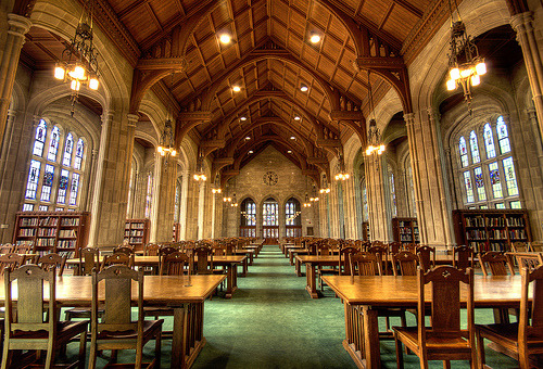 bookmania:  Bapst Library, Boston College (by thegreatgeekmanual)