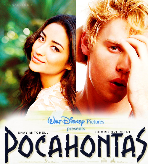 Disney In Real Life | Pocahontas  Shay Mitchell as Pocahontas  Chord Overstreet as John Smith