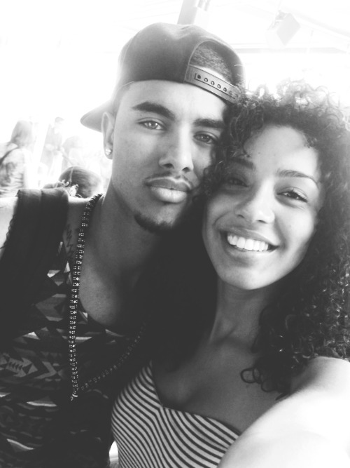 Reblog This If You Hope Laith and Christina Both Win The Karmaloop Model Contest So They Can Be Together