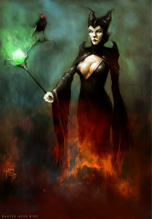 Maleficent by ~DamienWorm