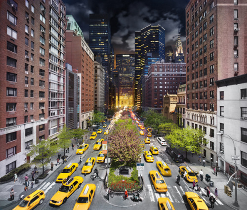 Stephen Wilkes takes NYC from day to night in one frame