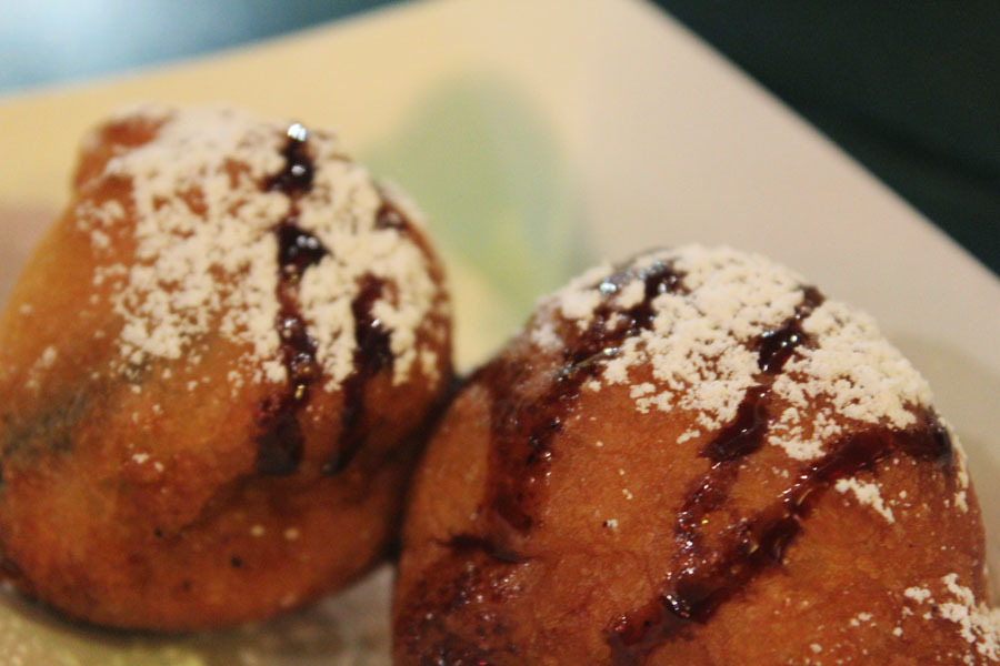Deep fried oreos are absolutely delish.