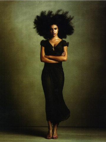 treasured-tresses:  High Fashion ♥#teamnatural #curlyhair #naturalhair