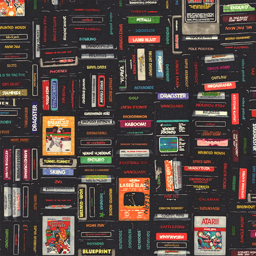 Atari & other nostalgia inspired wallpapers sized for iPhone & iPad by Hollis Brown Thornton (via Poolga)