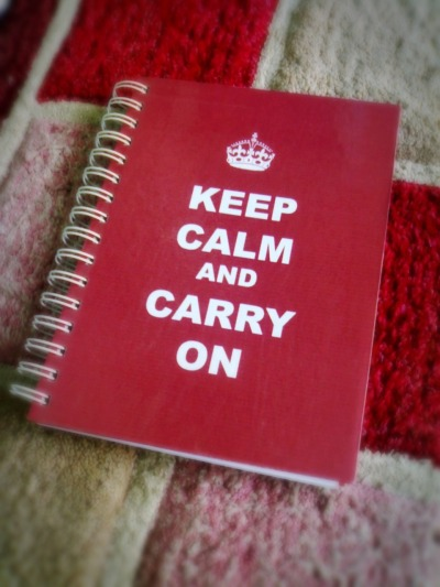 keep calm 'cause I made this by myself