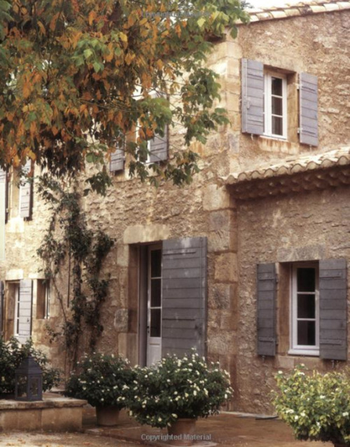 Above image scanned from BOOK: Provencal Escapes- Inspirational Homes in Provence by Caroline Clifton-Mogg & Christopher Drake