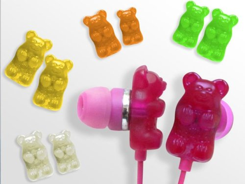 Gummy Bears Earphones!