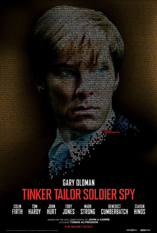 deareje:  AT LAST! Charactor poster for Tinker Tailor Soldier Spy. Benedict Cumberbatch as Peter Guillam
