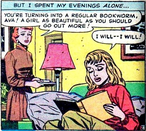 comicallyvintage:  Don't listen to her.  Books rule!