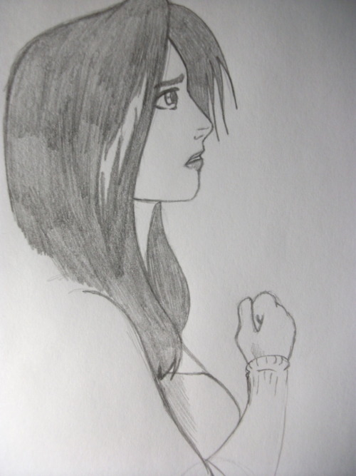 Rinoa! Another quick sketch to test for an FF comic.