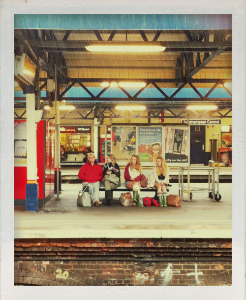 Waiting at the station on an English Summer's Day.  © Chloe Lodge, all rights reserved.
