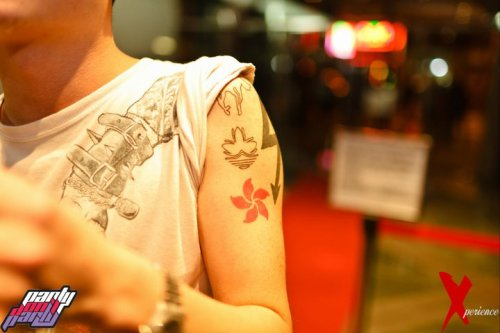 Hugo's Tattoos Part Don't Party, WanChai Wednesdays HK Summer'11 MDV