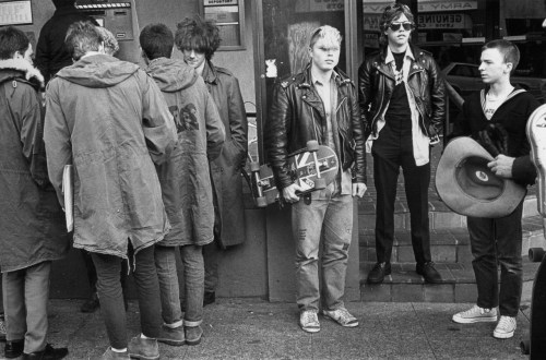 Mods & Punks. Seattle, 1983