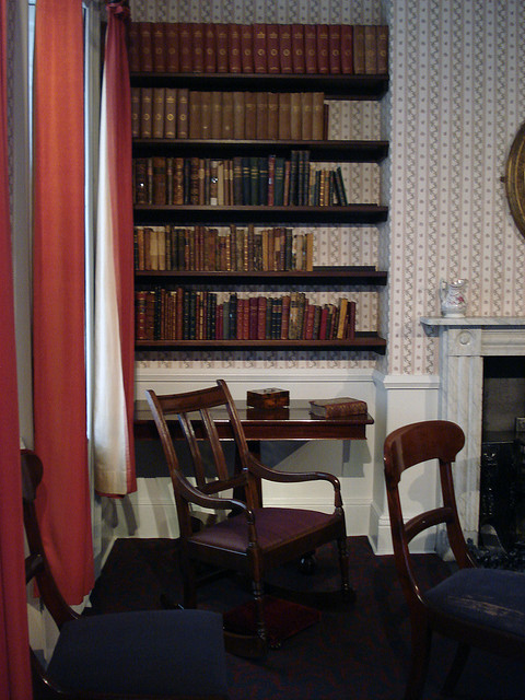 missagnesgrey:  Anne Bronte sat in that chair. by sharpandkeen on Flickr.