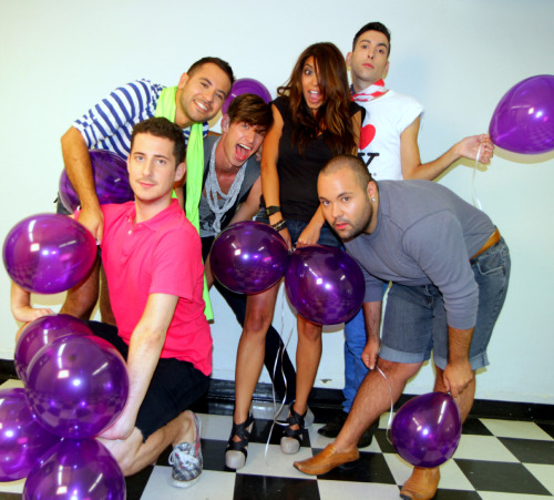 1girl5gays:  Juan, JP, Philip, Santos, Max + Aliya Jasmine filmed the Season 2 season finale last night in Toronto and it's going to be a hilarious episode! Premieres on MTV next Friday and in 2 weeks on Logo!!