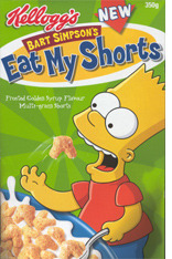 coolseternal:  Eat My Shorts, a real cereal sold in the UK in 2003.