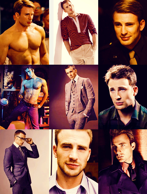 Top 9 Pictures  | Chris Evans[asked by: anon]