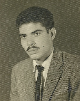This is a photo of Rafic as a younger man.  I'm not sure what age he is in this photo we just found it along with very interesting letters from his mother and brothers in our archives.