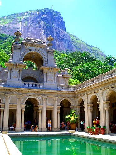 "This is one of the most magical places i've ever been… Parque Lage is a public park in Rio De Janeiro, located in the Jardim Botânico neighborhood. It's actually the home of ""Visual Arts School of Parque Lage"" and also is a public park, with walking trails through subtropical forest. I have some bad memories about this park too but i am still so happy that I ever visited there."