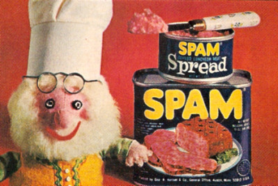 SPAM - 1970s advertisement.