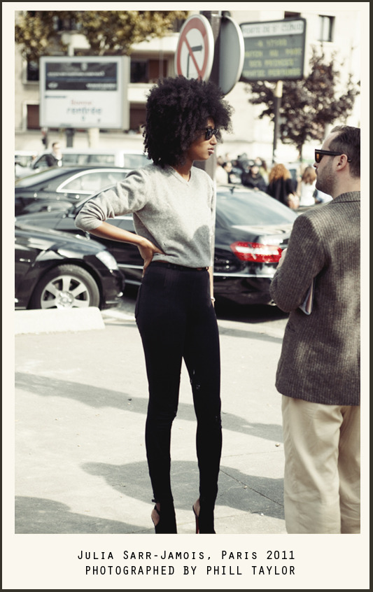 julia sarr-jamois is a total babe. photographed by taylor-made.