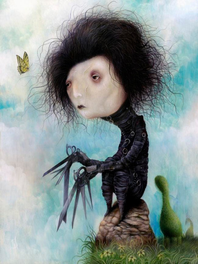 Dan May, Edward Scissorhands