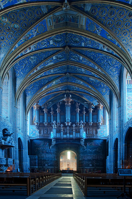 travelingcolors: Saint Cecil Church, Albi, France