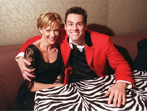 Lauren Holly and Jim Carrey. (photographer unknown)