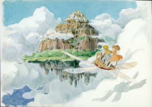 wiggle-your-big-toe:  Laputa: Castle in the Sky