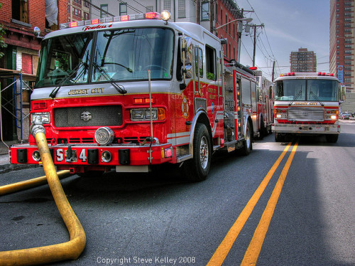 Emergency response to Jersey City fire by mudpig on Flickr.