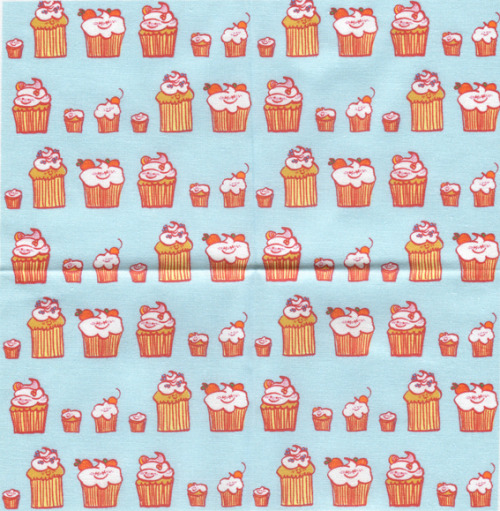 Cupcake Fabric!   Available for sale on spoonflower: Cupcakes