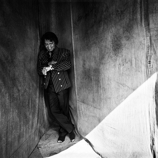 James Brown. Photography by Danny Clinch Danny Clinch @:http://www.dannyclinch.com