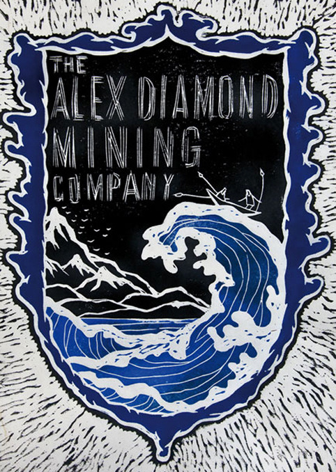 openblackbookmagazine:    Hamburg: Alex Diamond & His Mining Company At Vicious Gallery