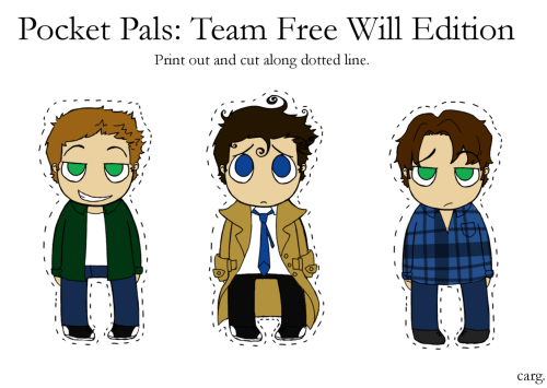 Here are already clothed versions of my paper dolls for those of you that just want little pocket sized characters to carry around with you at all times and not have to worry about losing clothes.