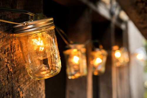 (via Mason Jar Lights by sweetteaclothingco on Etsy)