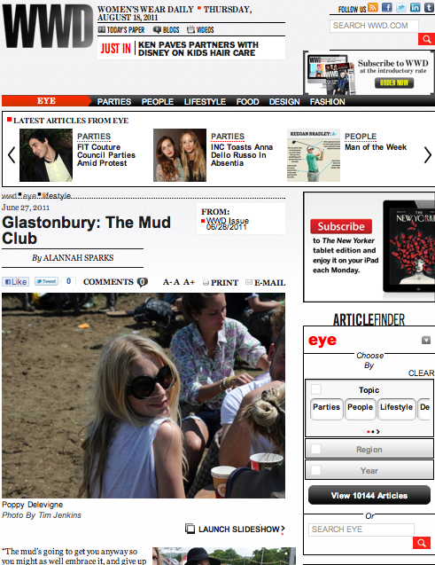 WWD 28/06/11 Glastonbury Coverage