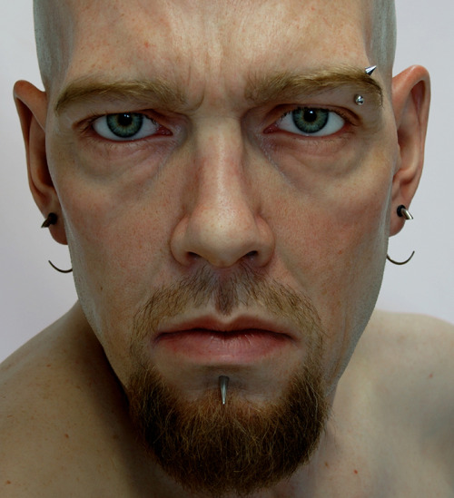 Jamie Salmon is an amazing artist who makes hyper-realistic sculptures. AMAZING stuff