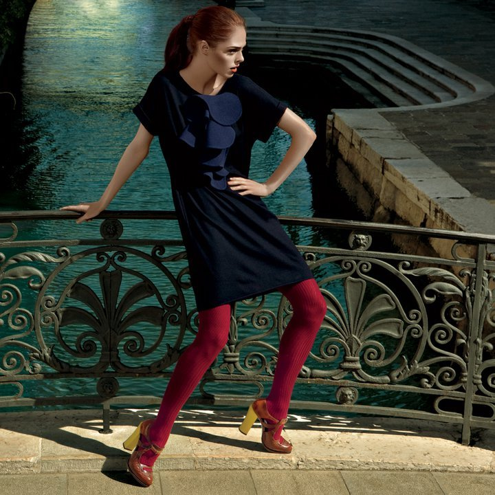 Love these colors! (via Americana Manhasset F/W '11 look book)