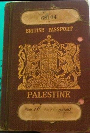 This is a passport dating from the years 1924 to 1948 for citizens of what was then the British Mandate for Palestine. Many copies have remained as a keepsake for Palestinian refugees.