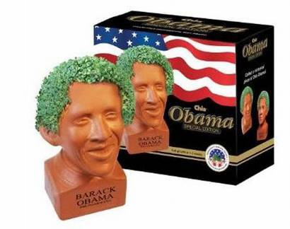 squashedniggga:  omg i want one, grow cress out of obama llama's head!