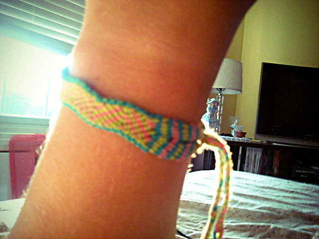 Favorite bracelet that I've made thus far!