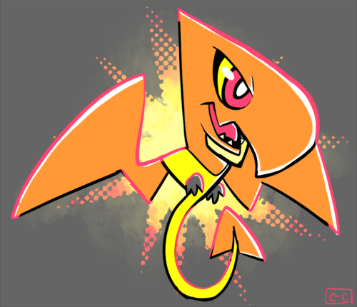 crayonchewer:  A Teenydactyl! Tiny terror of the skies!  HHNGNGLKDFJGLKLJDFG SO CUTE!